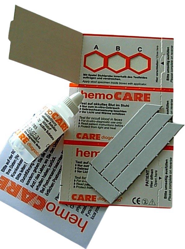 Meditec.at | HemoCare 50×3 Tests inklusive ...