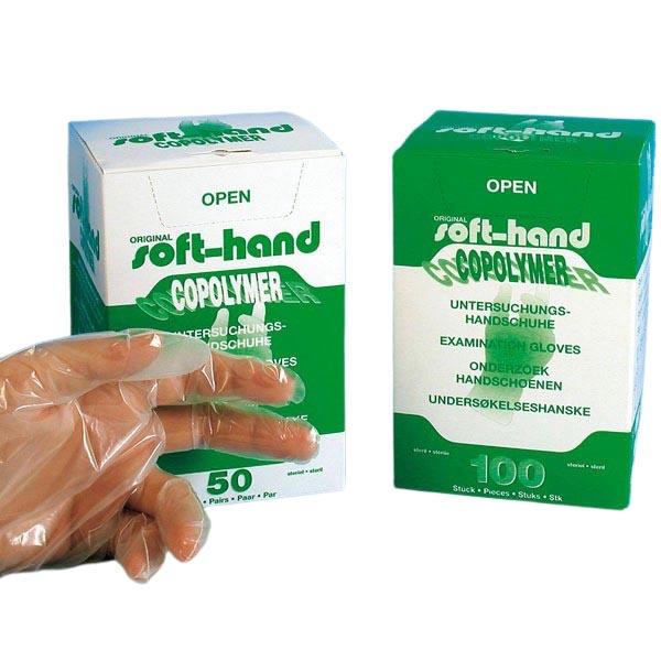 Copolymer Handschuhe steril Gr. M (100)